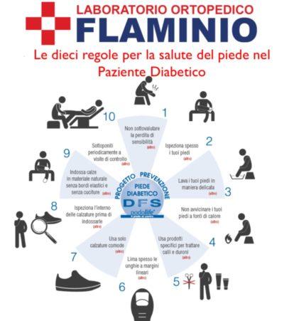 piede diabetico - 10 regole